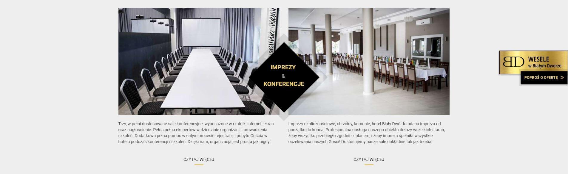 konferencje iimprezy okolicznościowe