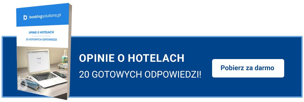 pobierz 20 gotowych odpowiedzi naopinie hotelu