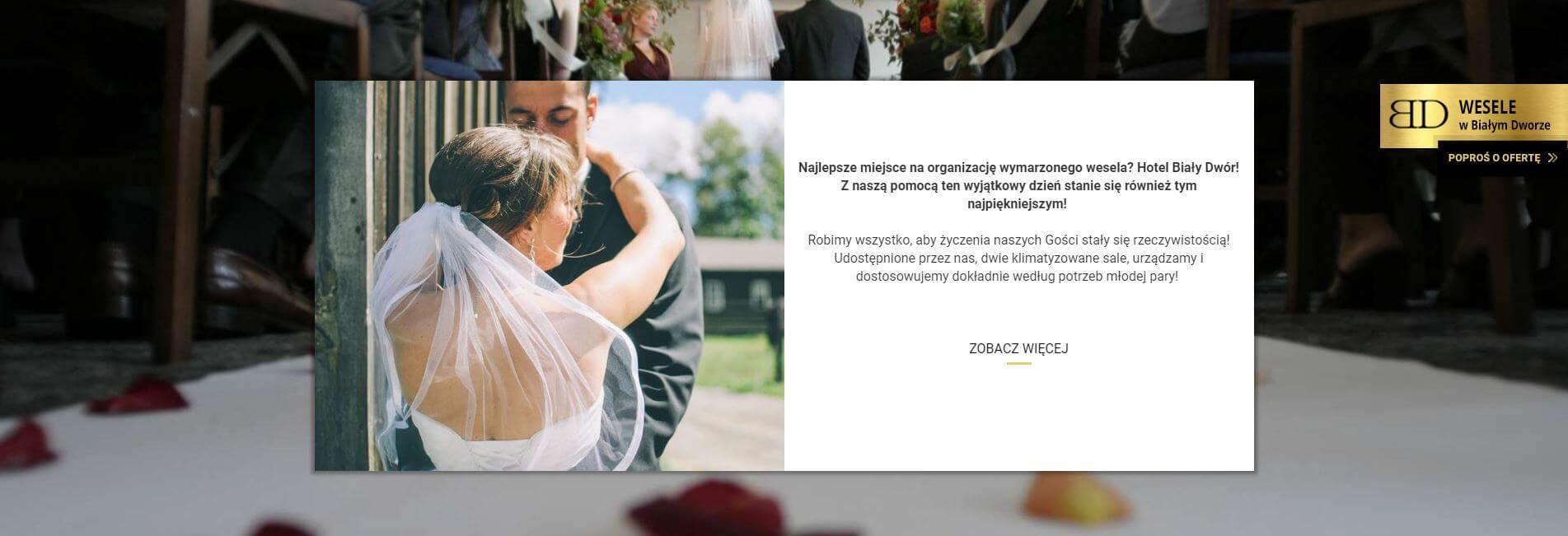 biały dwór wesela