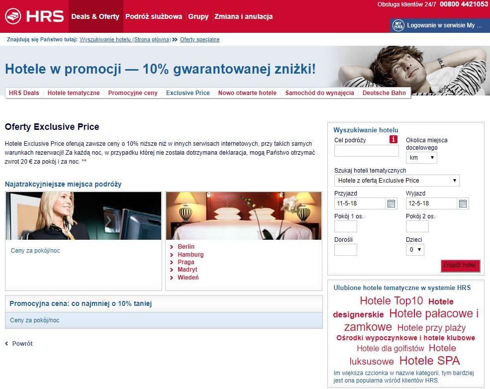 oferty specjalne exclusive deals