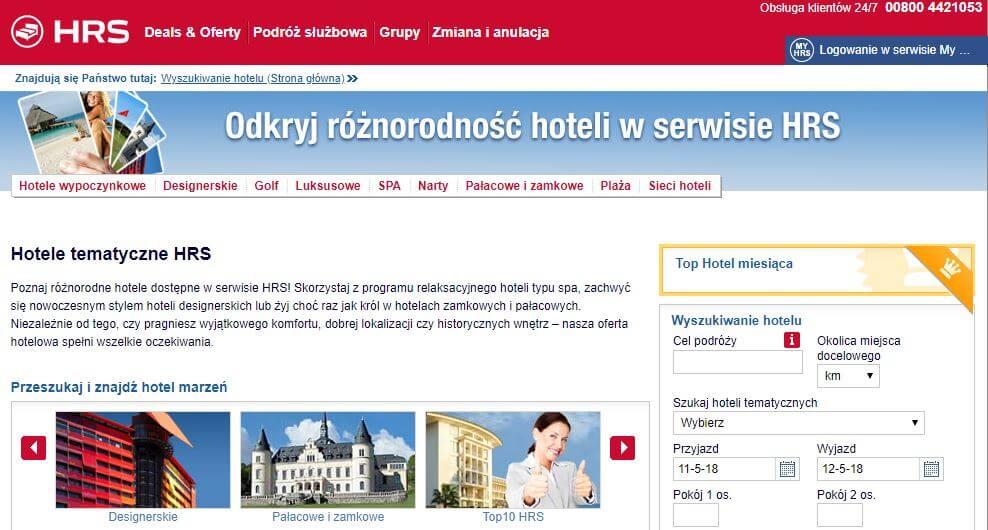tematyczne hotele