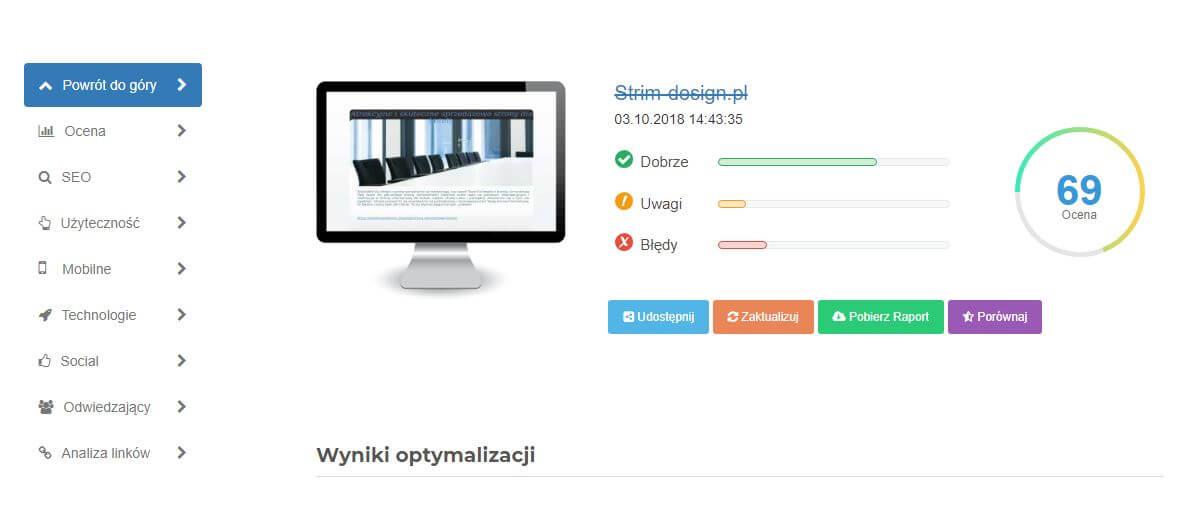 audyt www zadarmo