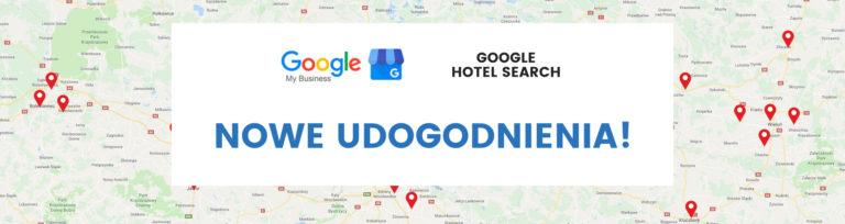 nowe udogodnienia w wizytówkach google i hotel search