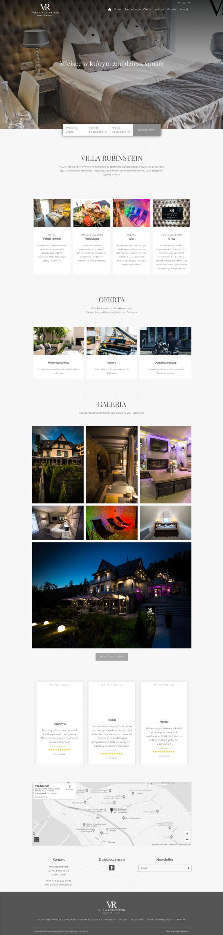 Strony internetowe dla hoteli - 7 punktów, dzięki którym zbudujesz idealną stronę dla swojego obiektu. 8