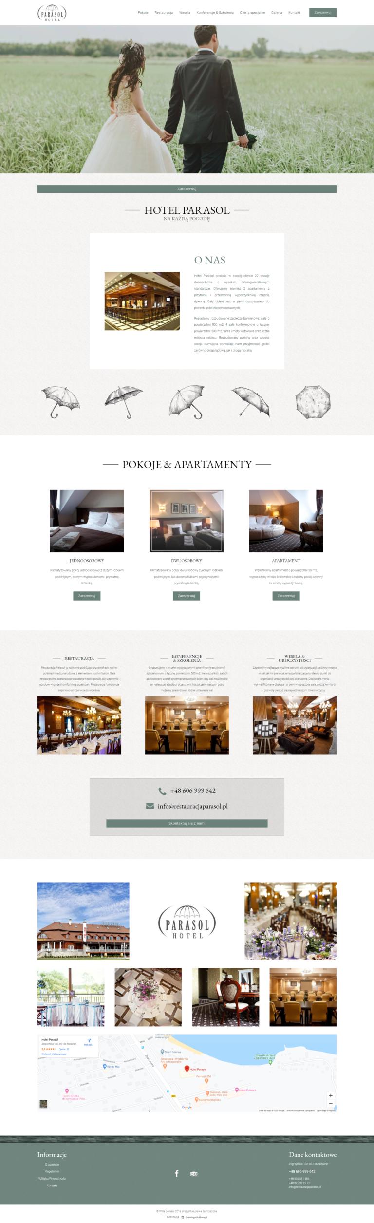 Strony internetowe dla hoteli - 7 punktów, dzięki którym zbudujesz idealną stronę dla swojego obiektu. 4