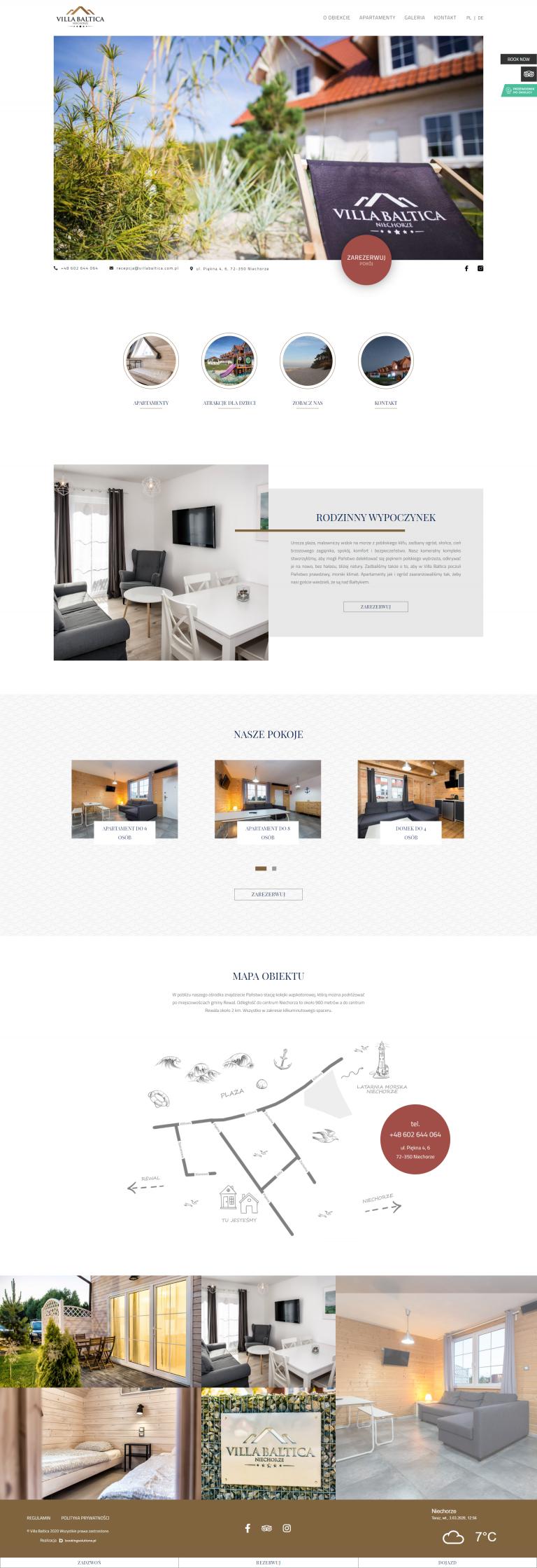 Strony internetowe dla hoteli - 7 punktów, dzięki którym zbudujesz idealną stronę dla swojego obiektu. 6