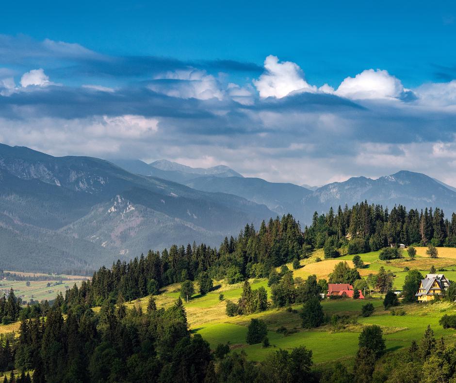 Turystyka krajowa w polskich górach