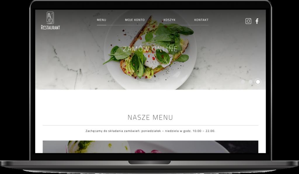 System zamawiania jedzenia online