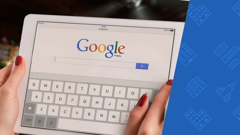 tablet ze stroną www